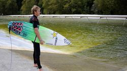 Et si le surf devenait olympique grâce à une piscine à