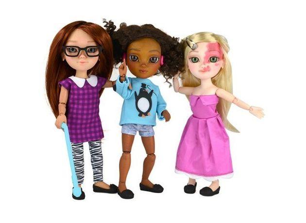 PHOTOS. #ToyLikeMe, des jouets et poupées handicapées pour que les enfants se sentent