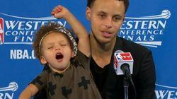 La petite fille du meilleur joueur NBA de la saison a fait le