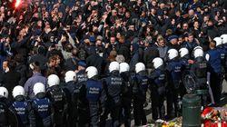 Des hooligans perturbent les hommages place de la Bourse à