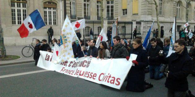 Mariage gay : Civitas manifeste à Paris pour une