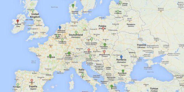 CARTE. Avortement en Europe: les restrictions en Espagne et ailleurs font craindre pour les droits des