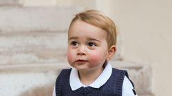Le prince George vous souhaite de joyeuses