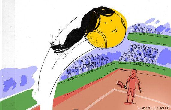 La joueuse de tennis Marion Bartoli est