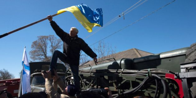 PHOTOS. Crimée : deux bases ukrainiennes attaquées, à Belbek et