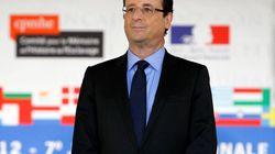 Bien avant ses ministres, Hollande avait déjà publié sa déclaration de