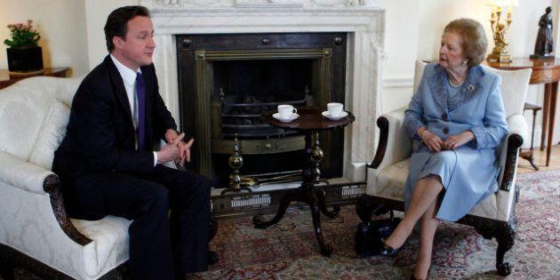 Héritage de Thatcher: David Cameron revendique la succession de la