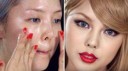 VIDÉO. Pour ressembler à Taylor Swift, une youtubeuse coréenne propose son tuto