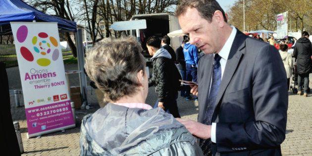 Résultats municipales 2014: à Amiens, la droite devance la gauche de 20