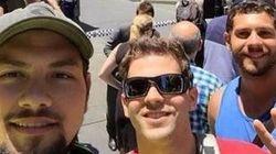 Ils font des selfies devant la prise d'otages de
