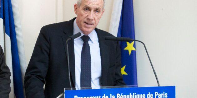 Paris Prosecutor Francois Molins addresses the media in Paris, France, Wednesday April 22, 2015. An Islamic...