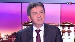 Jean-Luc Mélenchon quitte le plateau de TF1 en