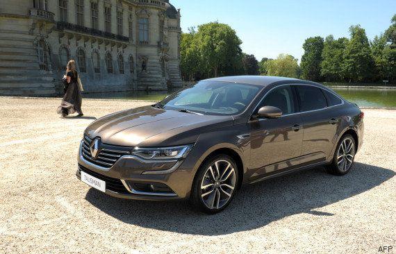 La Renault Talisman a été élue la plus belle voiture de l'année