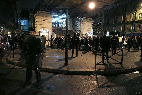 PHOTOS. Nouvelle évacuation d'un campement d'un millier de migrants à Paris, sous la station