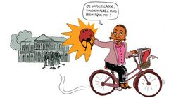 Taubira est repartie à vélo du ministère de la