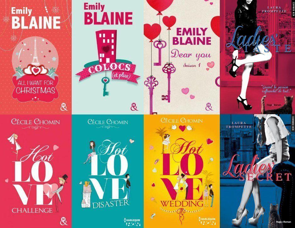 Dans le quotidien des reines de la romance française, Emily Blaine, Cécile Chomin et Laura