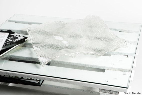 PHOTOS. Deux Italiens ont créé un verre absolument étonnant inspiré du papier