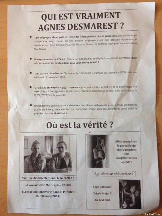Élections municipales au Raincy : l'étrange tract pro-Raoult diffusé avant le premier