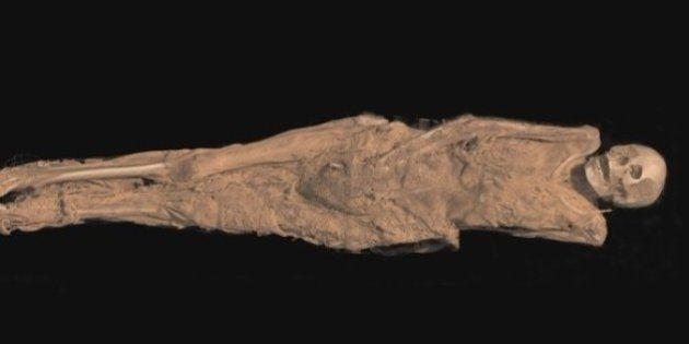 PHOTOS. Une momie tatouée vieille de 1300 ans bientôt exposée au British