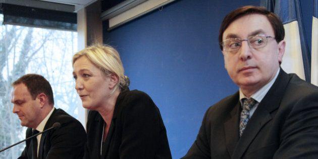 Front national: un vice-président mis en examen dans l'enquête sur le micro-parti de Marine Le