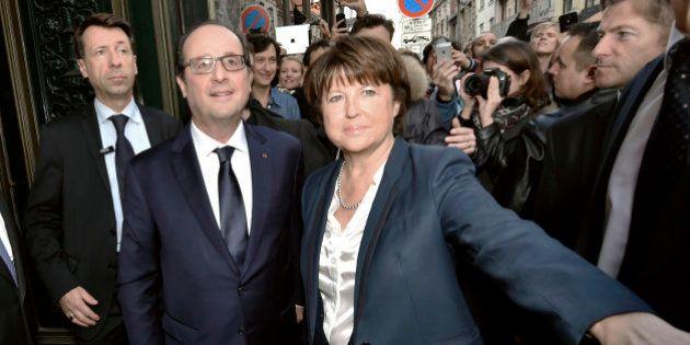 Martine Aubry prise pour cible par les proches de François
