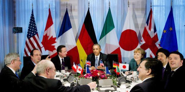 La Haye : réunion exceptionnelle du G7 sur la crise ukrainienne, la Russie menacée d'exclusion du