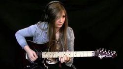 Cette jeune Française et sa guitare vont vous