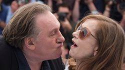 Quand Depardieu tente de voler un baiser à Isabelle