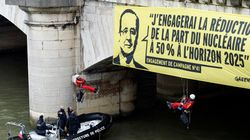 L'action coup de poing de Greenpeace contre le