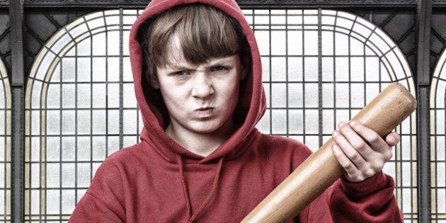 young aggressive teenage
