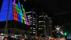 Au Brésil, on peut jouer à Tetris sur les