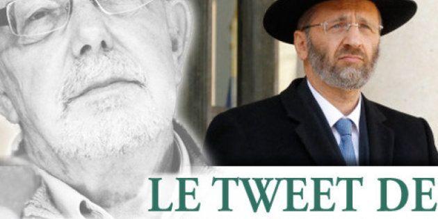Le tweet de Jean-François Kahn - Grand rabbin: sous les pavés le