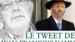 Grand rabbin: sous les pavés le