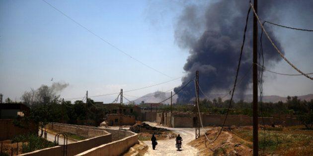 Daech prend au régime syrien le dernier poste-frontière avec l'Irak et expose davantage Damas et