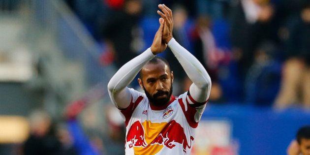 Thierry Henry, joueur passionné, hors du