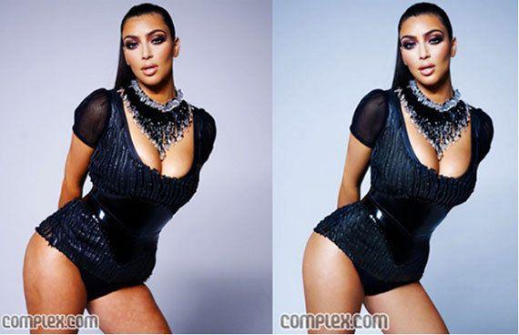 PHOTOS. Ces stars que l'on retouche inutilement, de Beyoncé à Kate Winslet en passant par Kim