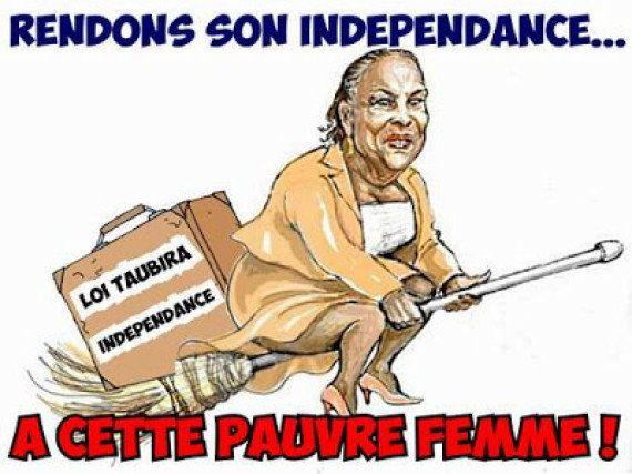 Singe, esclave, indépendantiste... Christiane Taubira cible de toutes les