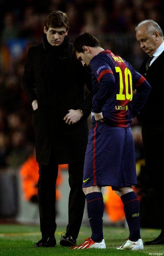 PHOTOS. Barcelone-PSG: la soirée la plus longue de Lionel