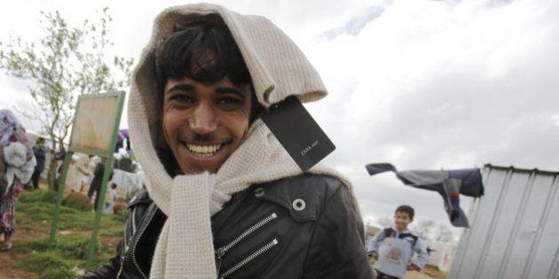 Inditex, propriétaire de Zara, offre 800.000 euros de vêtements à des réfugiés