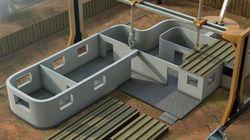 Cette imprimante 3D peut construire une maison en