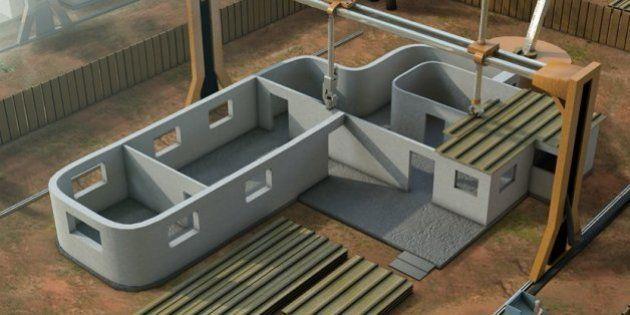 L'imprimante 3D qui peut construire une maison en