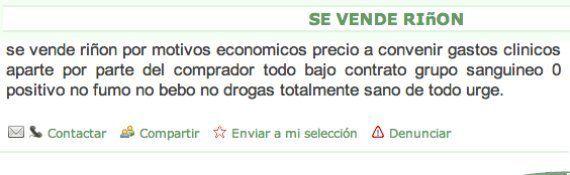 Ventes d'organes sur internet: l'Organisation des greffes espagnole dénonce la prolifération dans le