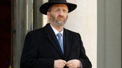 Le grand rabbin de France Gilles Bernheim a