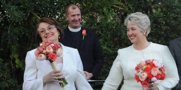 Au Texas, le mariage gay de la maire de Houston ne fait pas de