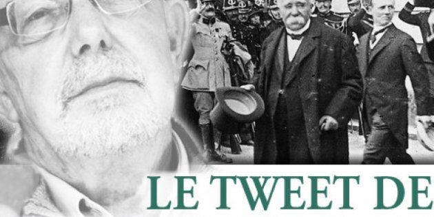 Le tweet de Jean-François Kahn - Il nous faut Clemenceau pas Guy