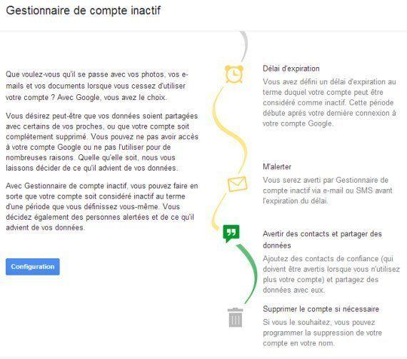 Mort numérique: Google annonce sa solution pour effacer les données après la