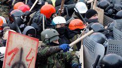 Kiev : la police use de gaz lacrymogènes contre les centaines de milliers de