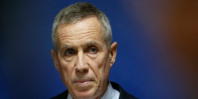 Paris prosecutor Francois Molins attends a news conference at the courthouse in Paris, France, November...
