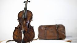 Le violon du Titanic adjugé pour 1,063 million