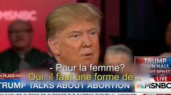 VIDÉO. Donald Trump pour